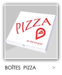 BOITE PIZZA PERSONNALISEE