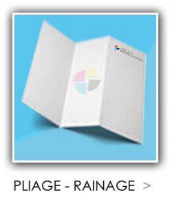 Pliage - rainage