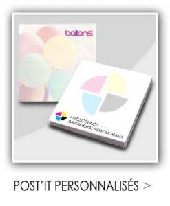 Post'it personnalisés