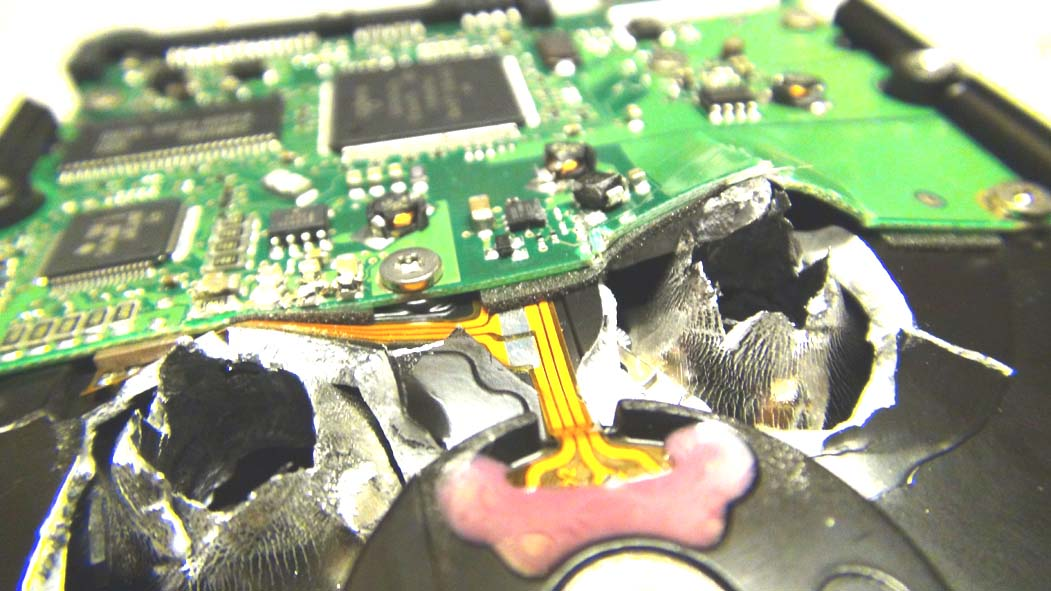 Destruction disque dur