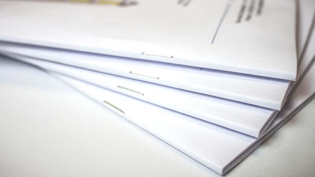 Reliure documents