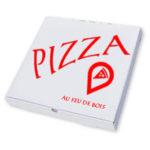 Boîte pizza 1 couleur
