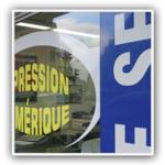 adhesif vitrine lettrage sticker autocollant agescom