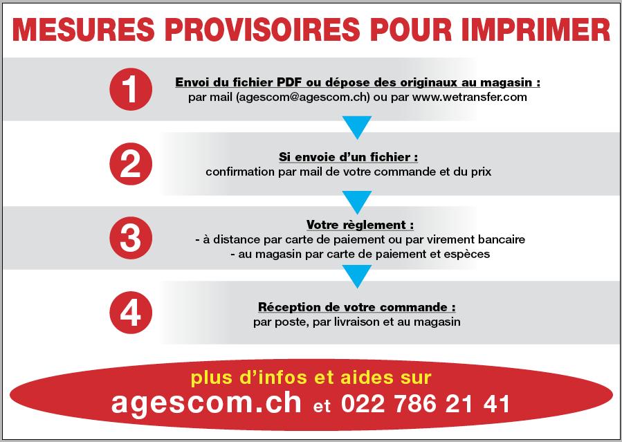 imprimerie ouvert contact Agescom Geneve